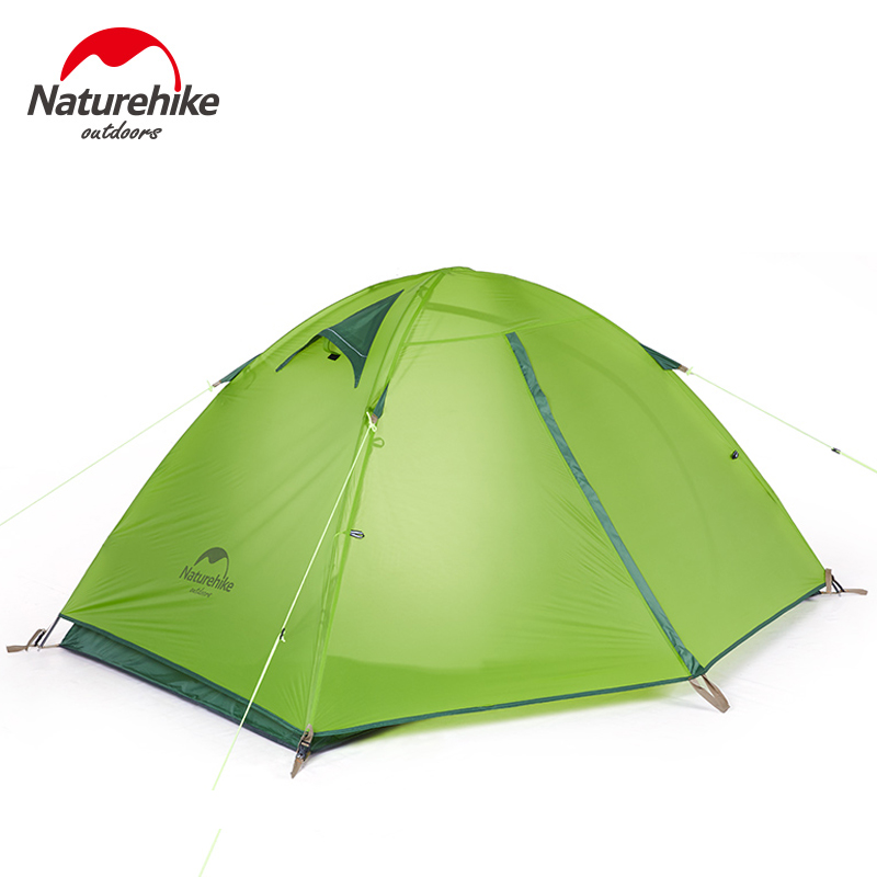 Здесь продается  Naturehike Ultralight Outdoor Camping Tent Beach 20D Silicon Double Layer Waterproof 2 Person Hiking Travel Tourist Tents  Спорт и развлечения