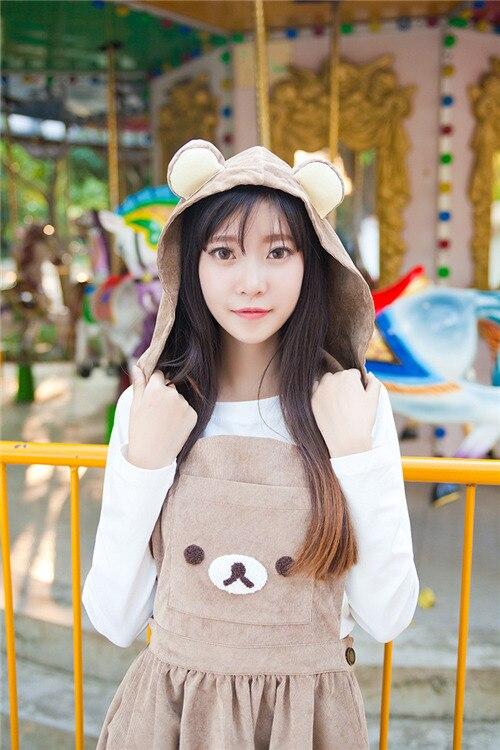 A-Line Cute Bear Dress