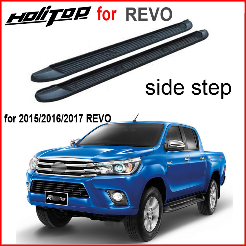 Newest OE side step side bar running boards nerf bar for Toyota Hilux REVO High quality