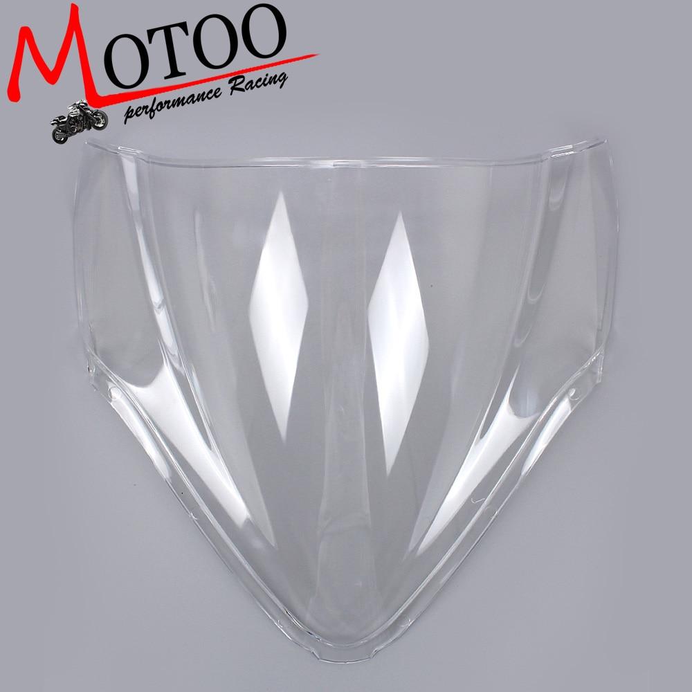 Motoo -Windshield WindScreen Double Bubble for Suzuki GSX-R1300 Hayabusa GSXR1300 2008-2011 motoo windshield windscreen double bubble for suzuki gsx r600 gsxr600 1996 1999
