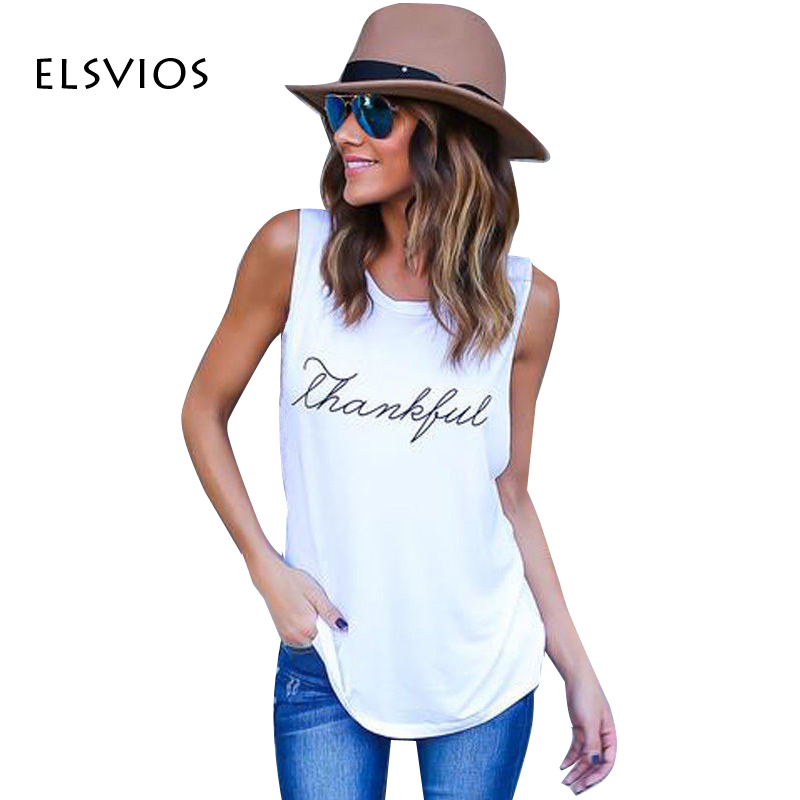 ELSVIOS Women Vest Sleeveless Tank Tops Female Shirt