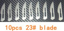 23# 10 pcs Blades for Wood Carving Tools Engraving Craft Sculpture Knife Scalpel Cutting Tool PCB Repair Scalpel blade