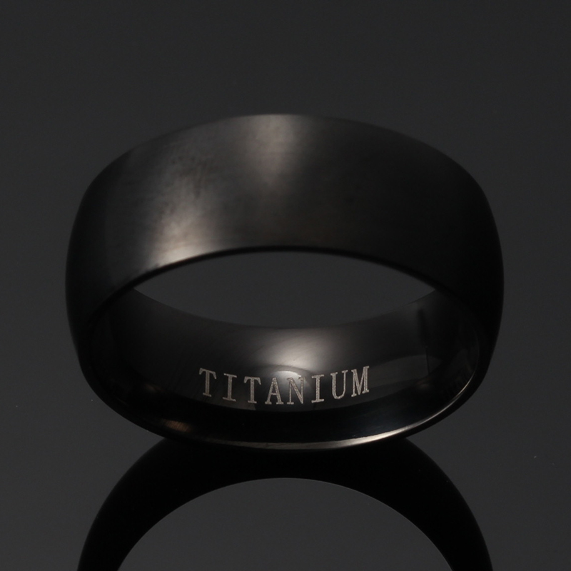 Pls Contact Us Before You Leave Neutral Or Negative Feedback About Meaeguet  Fashion Men Titanium Ring High Quality Black Titanium Wedding ...