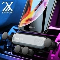 Uchwyt samochodowy na odpowietrznik uchwyt na telefon uchwyt do smartfona dla Kia Sportage Ceed Rio 3 4 K2 K5 KX5 Sorento duszy Cerato Picanto Optima K3 w Naklejki samochodowe od Samochody i motocykle na