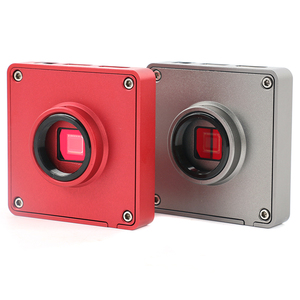 Image 5 - 1080p 37MP hdmi usb工業用ラボデジタルビデオ顕微鏡カメラ + 200X 500X 130X cマウントレンズ + 56 ledリングライト