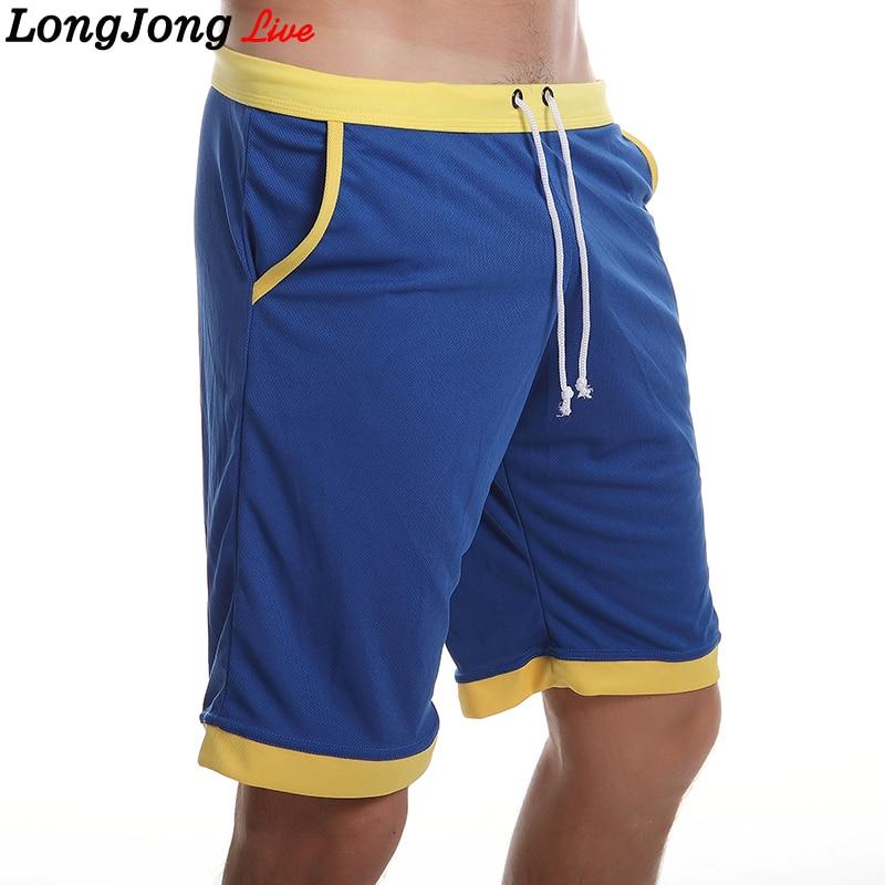 2017 Men Brand Shorts Loose Summer Men Casual Elastic Shorts Bermuda Pantacourt Homme Beach Board Fashion Men Quick-Dry Shorts