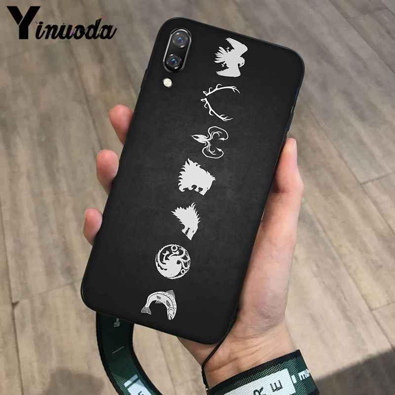 Yinuoda لعبة عروش الذئب مخصص DIY رسمت جميلة جراب هاتف ل هيفي P10 زائد الشرف 9 10 الرؤية 10 زميله 9 كوكه شل
