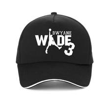 fashion Dwyane Wade print Baseball caps Men Adjustable Cap Casual hat Unisex Snapback hats стоимость