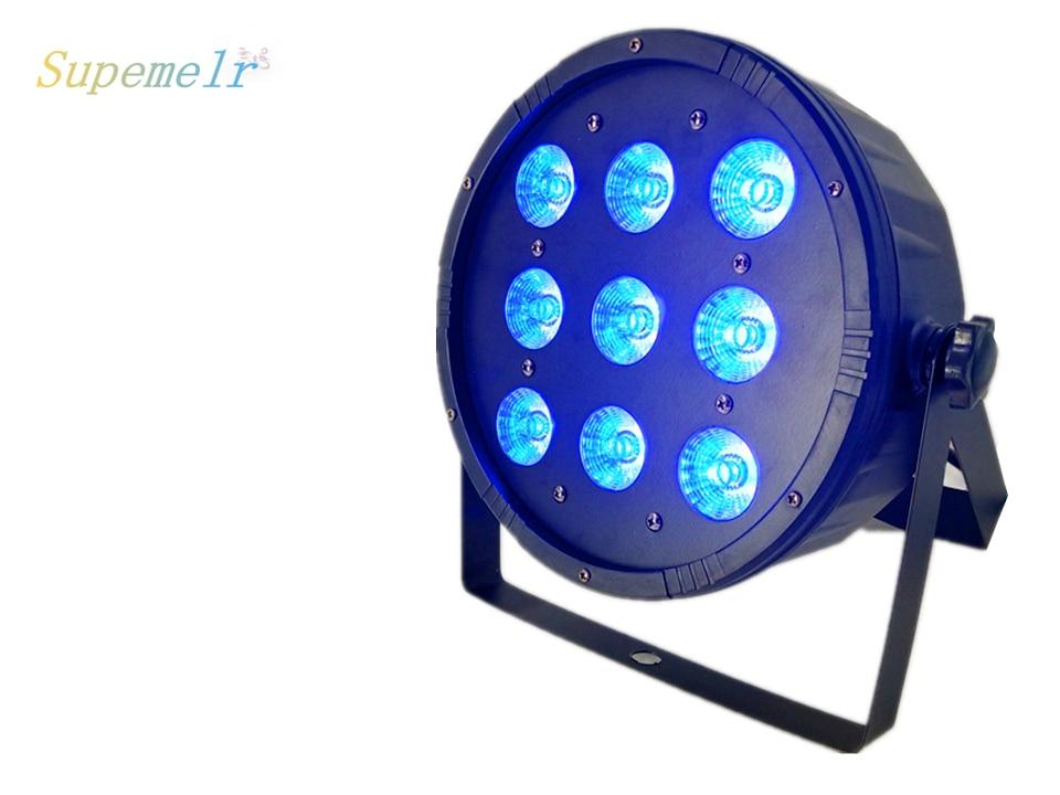 6pcs/lot Top-selling 9x12W RGBW 4IN1 Flat LED Par Light/DMX Theaters Churches6pcs/lot Top-selling 9x12W RGBW 4IN1 Flat LED Par Light/DMX Theaters Churches