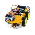Многофункциональный робот автомобиль комплект Bluetooth шасси костюм отслеживание Совместимость UNO R3 DIY RC электронная игрушка робот с Lcd1602 - 1
