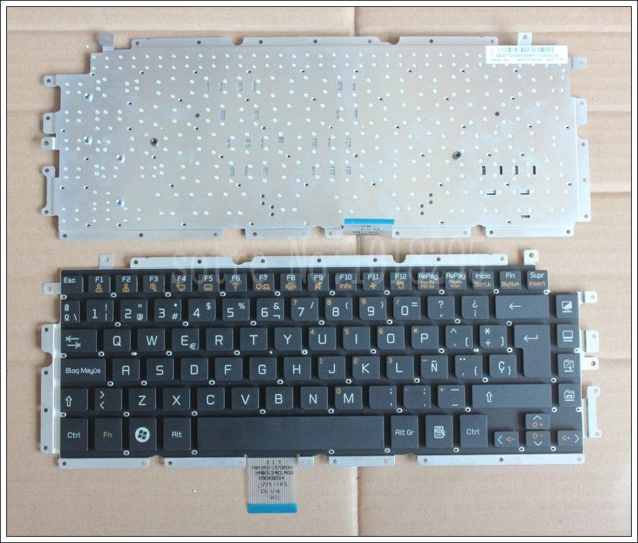 New SP Laptop Keyboard for LG Z330 Z350 Z355 black Spain keyboard new portuguese laptop keyboard for lg z330 z350 z355 black portugal po keyboard