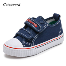 Autumn girl shoes canvas children shoes boys breathable sneaker casual shoes kids non-slip soft school running shoes white black цена