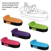 Folding Inflatable Sofa Fast Inflatable lounger lazy bag sofa High Quality Outdoor Sleeping bag Relax Air Sofa bed bag air chai
