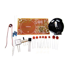 Electronic 2015 10pcs/lot Simple FM wireless microphone parts