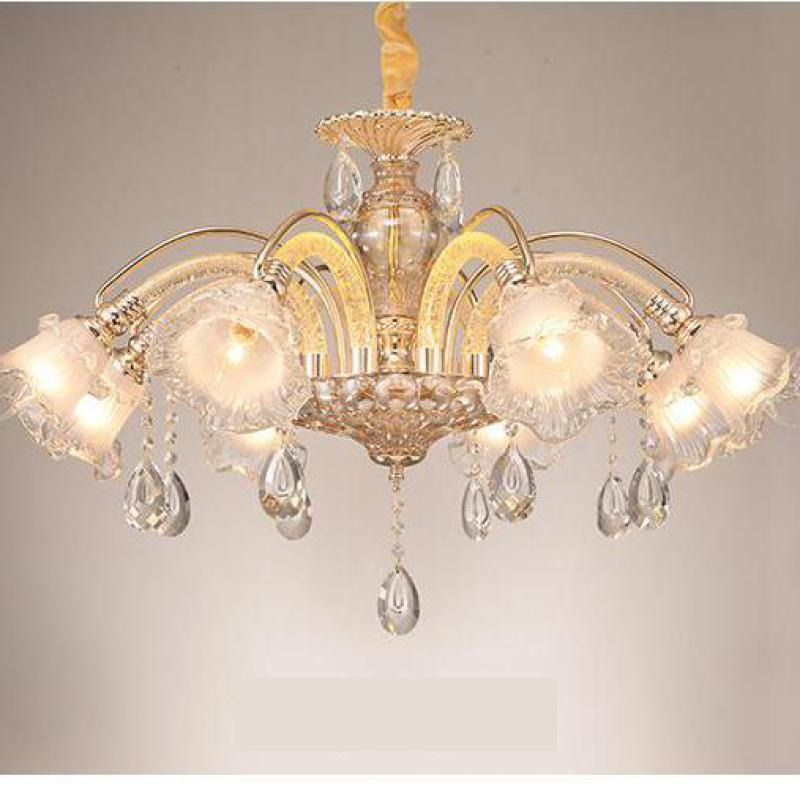 Modern Glass Lampshade Led Crystal Lamp Crystal Chandelier