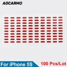 Indicator-Sensors Waterproof-Sticker iPhone 5s Aocarmo Label for 100pcs/Lot Repair Water-Damage