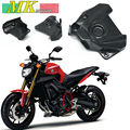Free shipping for 2014 2015 2016 MT09 FZ09 FJ09 Engine Sprocket Chain Case Cover 100% Carbon Fiber