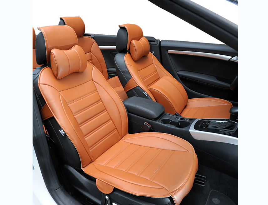 Free Shipping Fiber Leather Car Seat Cover For Toyota Vios Prado