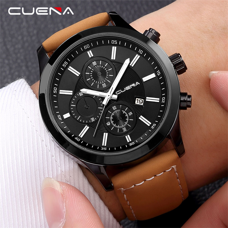 где купить Sports Men Watch Army Military Mens Wristwatch Fashion Casual Camping Male Clock High Quality Leather Saat Relogio Masculino по лучшей цене