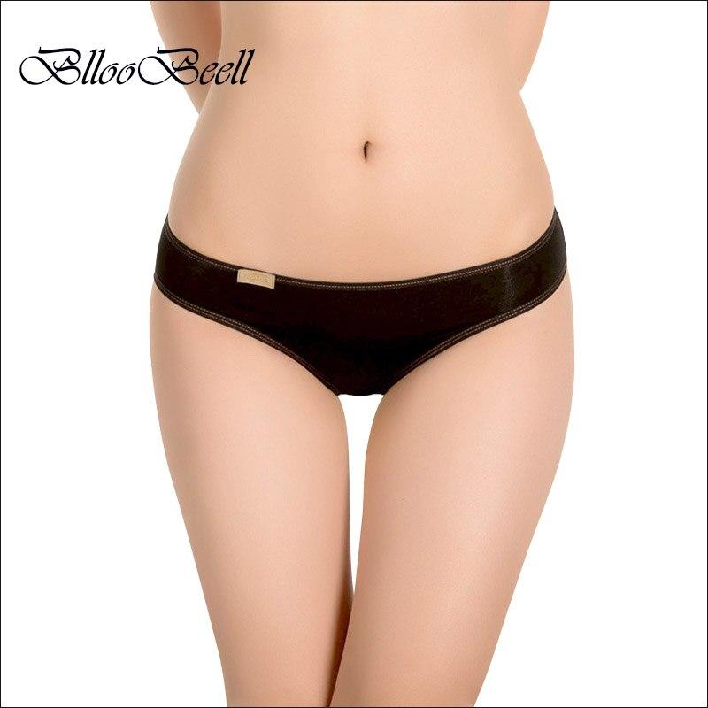 BllooBeell Enobarvne ženske spodnje spodnje hlačke spodnje perilo - Spodnje perilo