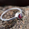 GZ Natural Tourmaline Ring S925 Thai Silver Rings for women Jewelry 925 Sterling Silver anillos Male