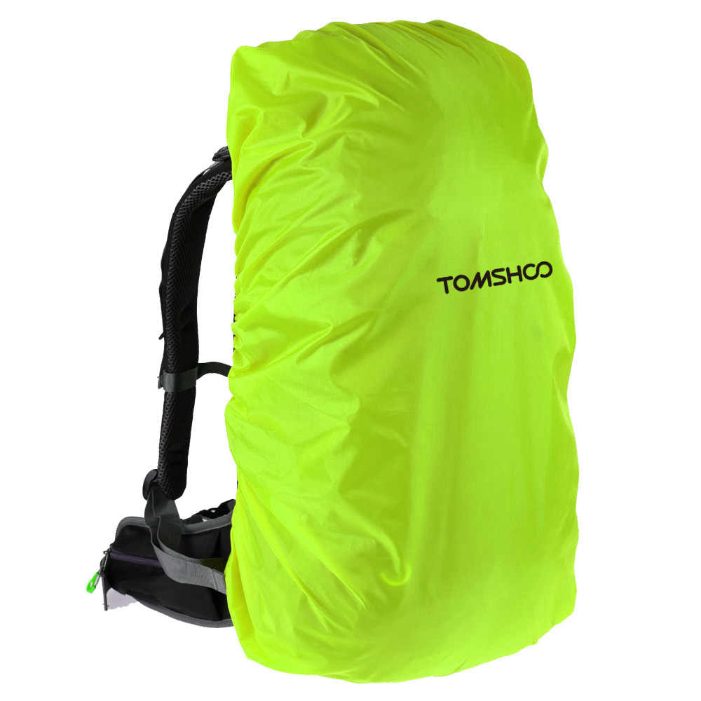 TOMSHOO Backpack Rain Cover 40L-50L Cycling Outdoor Rucksack Bag Tactical Backpack Dust Cover Waterproof Bag Backpack Rain Cover