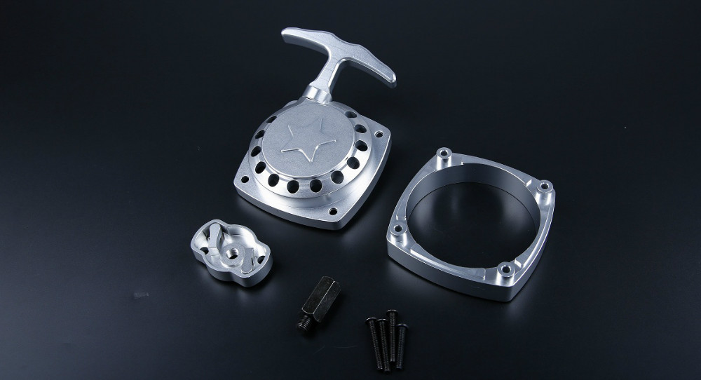 baja CNC alloy easily starting pull starter set ( No need to process flywheel) 85277 1/5 rc carbaja CNC alloy easily starting pull starter set ( No need to process flywheel) 85277 1/5 rc car