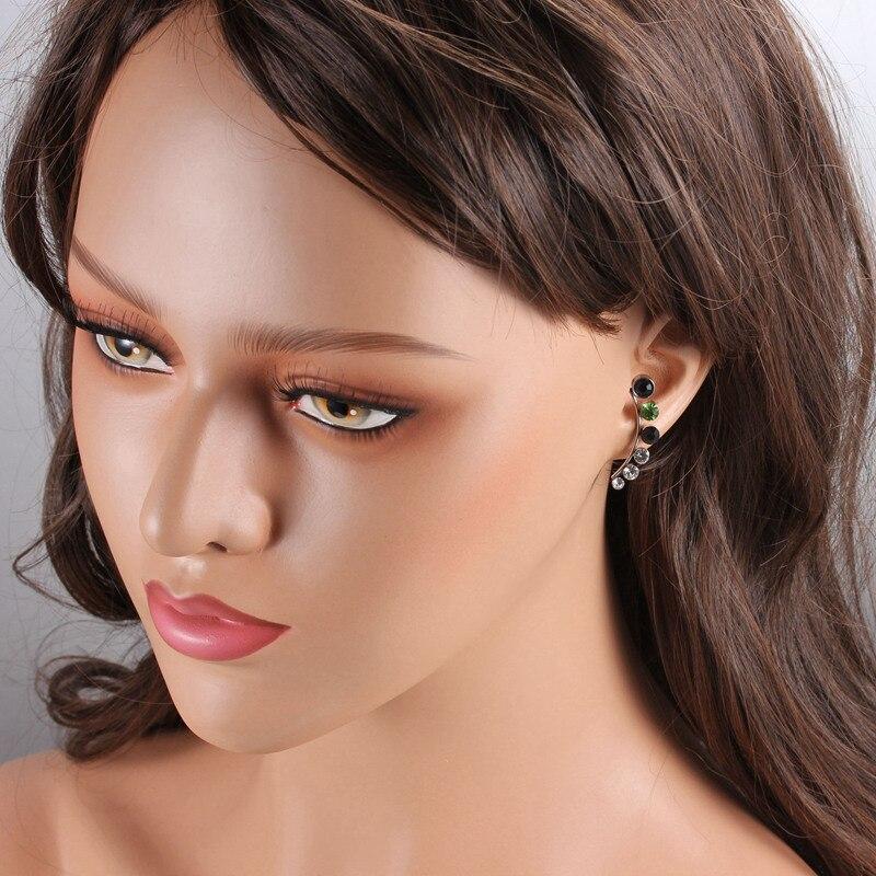 SCARLETT – Korean Style Crystal Stud Earrings Earrings Stud Earrings 8d255f28538fbae46aeae7: Multicolor Rhineston|White Rhinestone