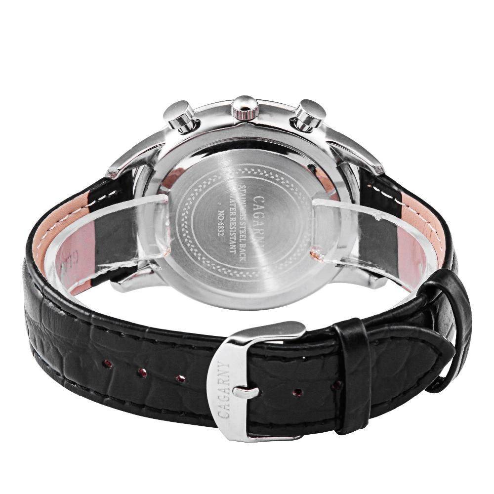 Hot Fashion Horloges Super Man Top Luxe Merk Cagarny Horloges Mannen - Herenhorloges - Foto 6