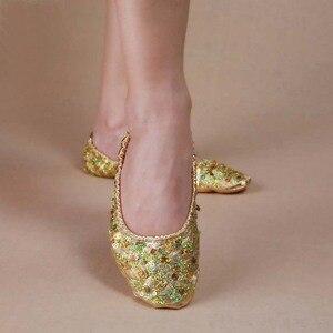 Image 1 - 2019 Oryantal Dans Performansı Ayakkabıları Oryantal Dans spor ayakkabıları Uygulama Ayakkabıları Oryantal Dans Ayakkabıları