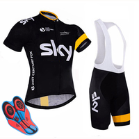 2018 Cycling Jersey MTB Bike Clothing SKY Team Cycling Clothing Ropa Ciclismo Jerseys PRO Bicycle Wear Bike Clothes Sets