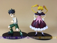 12cm-14cm Japanese anime figure Hunter X Hunter Greed Island Gon/Biscuit Krueger action figure collectible  model toys for boys