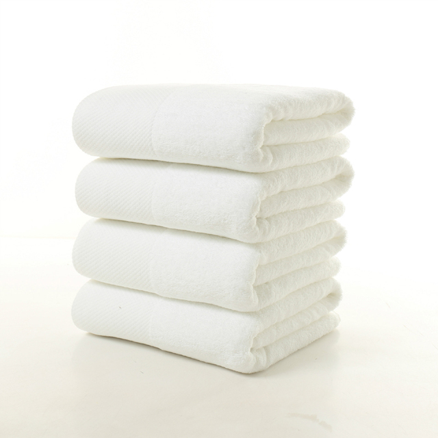 5-Stars Hotel 100% Cotton Bath Towel – Fast Drying, Soft & High Absorbent