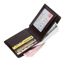 RFID Blocking Stylish Genuine Leather Wallet for Men – Excellent as Travel Bifold – Credit Card Protector – RFID Blocking Wallet
