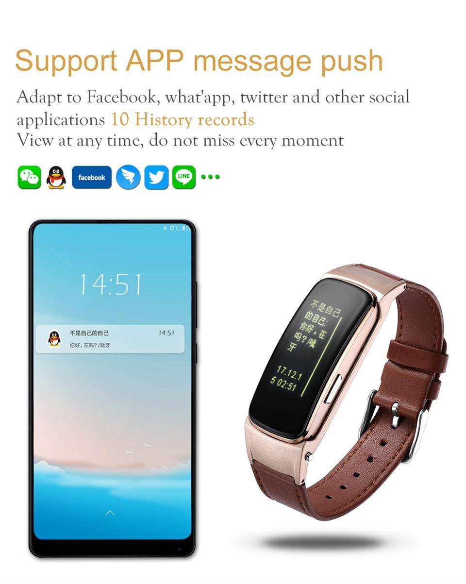 YKSO Bluetooth Smart band With SIM Card  smart bracelet B3 Plus Smart Wristband Heart Rate Monitor Smart band  (11)