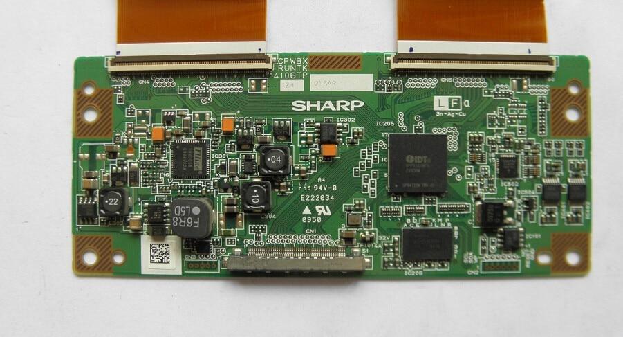 4106TP ZH Logic Board  For screen LK400D3LW1BX LCD-40Z660A 100% workin puky lk z 9129