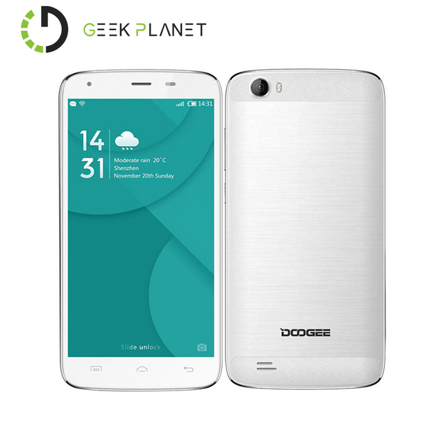 Original Doogee T6 Pro MTK6753 1.5GHz Octa Core 5.5 Inch HD Screen 6250mAh 3GB RAM 32GB ROM Android 6.0 4G LTE Smartphone