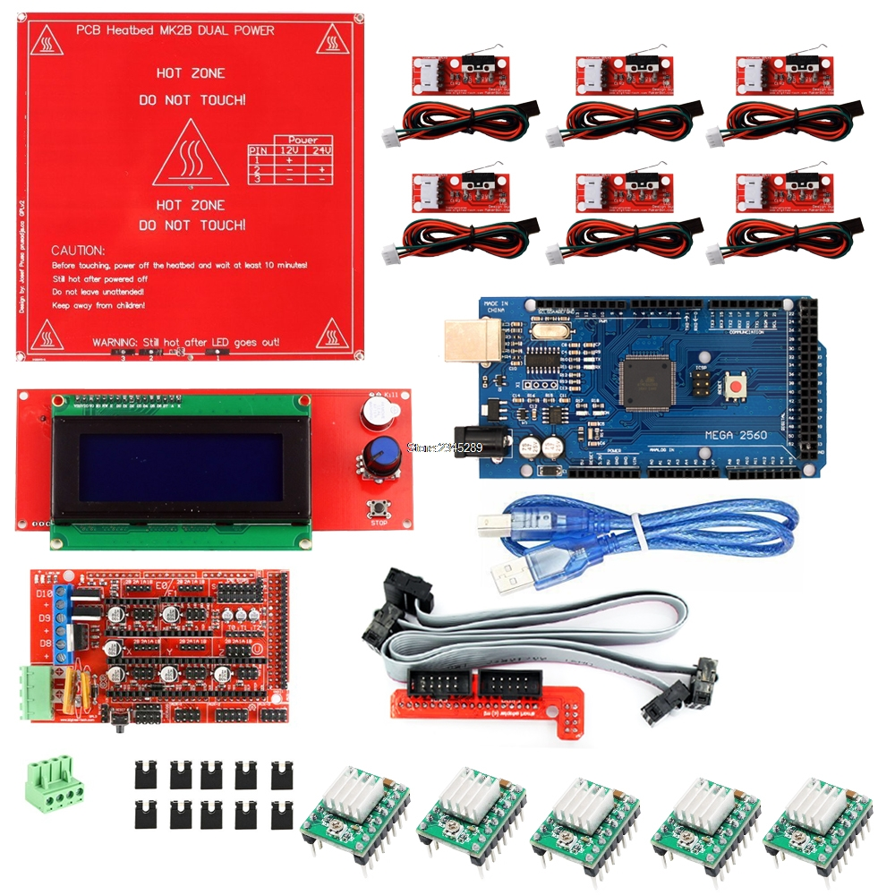 Big promotion for ramps arduino mega a4988 and get free