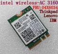 Intel Dual Band Wireless-AC 3160 3160NGW 04X6034 04X6076 for  Y40 Y50 E10-30  E455 E555 2.4GHz/5,8GHz wifi