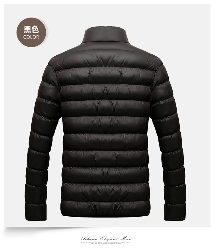Winter Jacket Men 2019 Fashion Stand Collar Male Parka Jacket Mens Solid Thick Jackets and Coats Man Winter Parkas M-6XL 14