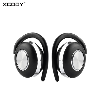 XGODY Air V5 TWS Wireless Headphones Stereo Bluetooth 5.0 Earphone Ear Hook Noise Cancelling Bluetooth Headset With Microphone