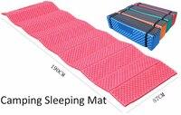 Camping Mat Ultralight Foam Picnic Mat Folding Egg Slot Beach Mat Tent Sleeping Pad Moistureproof Camping