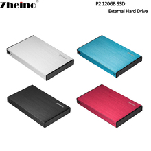 Zheino P2 120G USB3.0 External Aluminum Case Super Speed with 2.5 SATA Solid State Drive Replacement Of External Hard Drive Disk