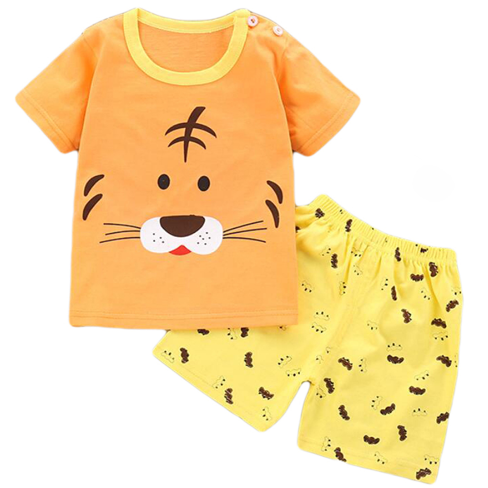 Baby boy summer Clothes Set Outfit T-shirt Dress Children's Clothing Toddler Baby Shorts Set Summer Suit for boys 1 2 3 Years