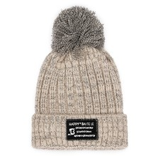 d2084bee555 Women s winter thick warm wild wool hat autumn and winter hair ball student  ear protection Korean