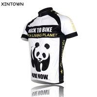 Nuova panda ciclismo ropa cycling jersey bici manica corta camicia top clothing sportwear biciclette squadra corse in bicicletta jersey s-4xl