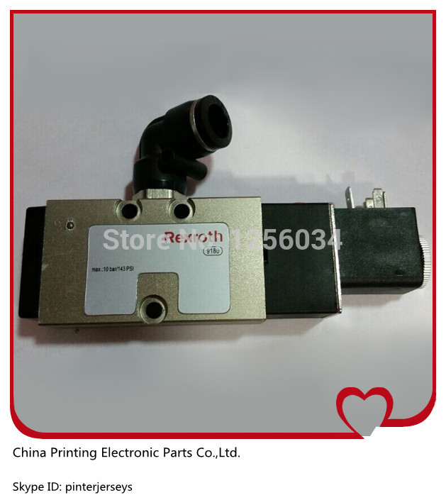 1 piece SM74 SM52 printing parts solenoid valve, combined pressure cylinder valve M2.184.1171