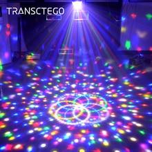 9 Color Led Disco Light Magic Ball Lamp DMX 512 Laser Lumiere RGB Party Light For Kids DJ Sound Activated Disco Lamp Party Light frank lozano magic system cristina manzano tom garrow nea vanello synthgo джозефина суитт nation in blue peter wilson zyx italo disco new generation volume 9 2 cd