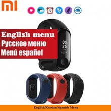 New Authentic Xiaomi Mi Band Three Good Bracelet 0.78 Inch OLED Climate Forecate Miband Three Mi Band 2 Upgraded Assist English Russian