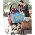Fresh Cartoon Mummy Bag Mother Baby Bag Large Capacity Multi-Functional Maternity  Bag Mother Backpack Baby Diaper Backpack